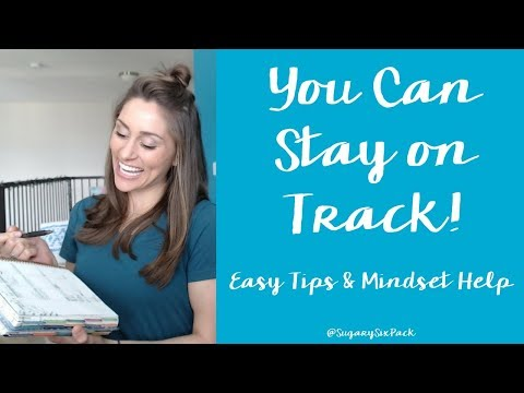 Staying on Track & Fitness Motivation | Tips & Mindset