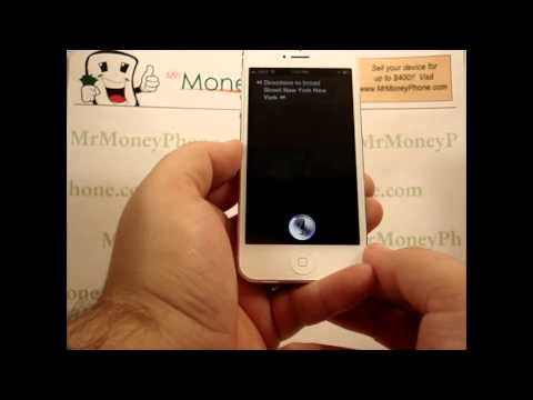 iPhone 5 - How to Get Directions Using Siri - Apple iPhone 5 - Tutorial #18