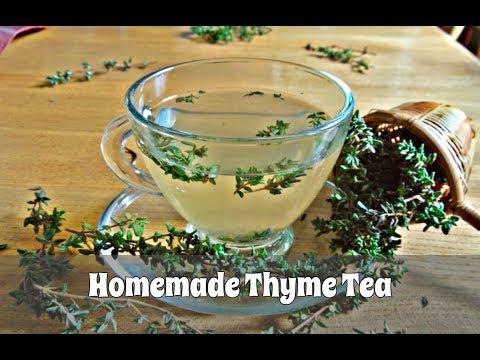 How to Make Thyme Tea Using Fresh or Dried Thyme (Slideshow)