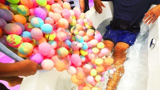 Download EXTREME 1000+ BATH BOMBS CHALLENGE! Video