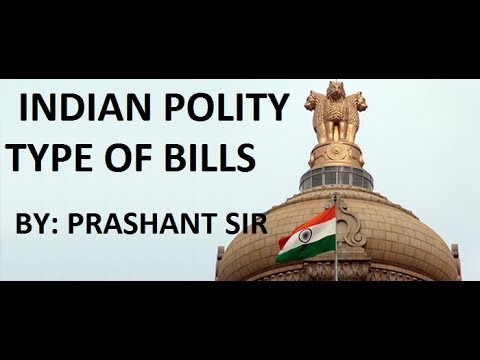 How a Bill Passed in Parliament- By Prashant Sir