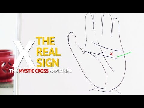 The REAL Mystic Cross or X Sign on the Palm Explained