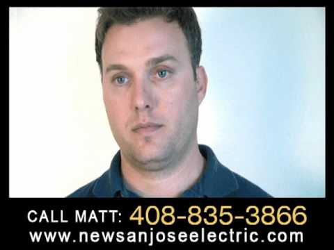 Electrical service panel replacement in your home. San Jose Electric