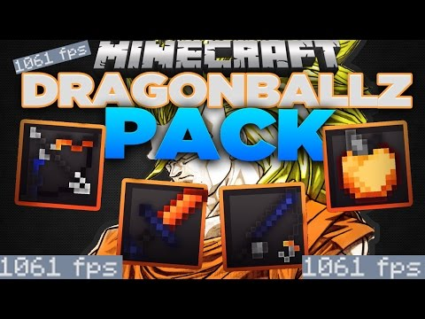 (1000 Fps) Minecraft PvP Texture Pack - DragonBall Z | 16x FPS Pack! GOKU TURNS SSJB 2!?