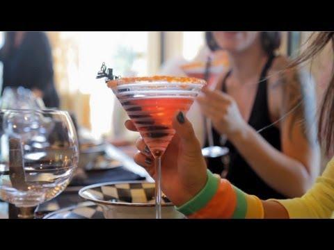 Try a Spook-o-politan (Cosmopolitan) - Halloween with ModernMom