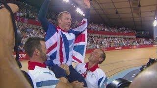 Chris Hoy Wins Men's Keirin Cycling Gold | London 2012 Olympics