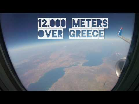 My flight to Crete