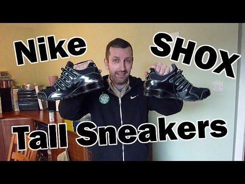 Sneakers that make you taller - Nike Shox Measurement