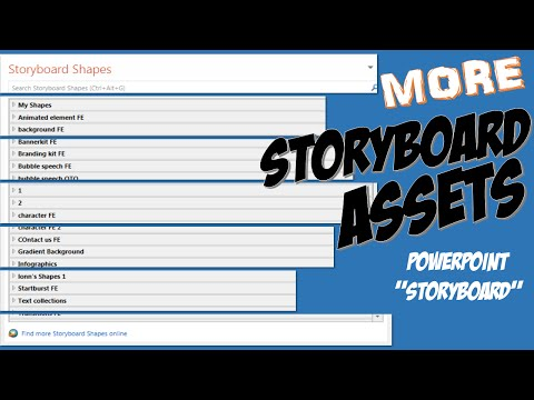 Where To Get PowerPoint Storyboard Assets