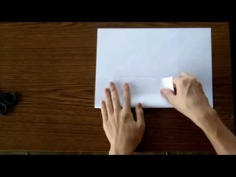 How To Make A Square Out Of Paper