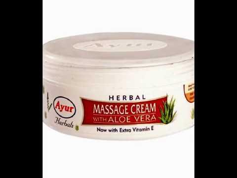 Ayur Herbal Massage Cream with Aloe Vera