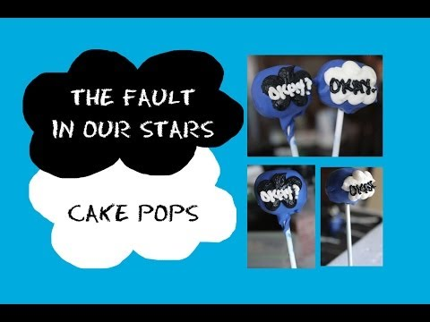 The Fault In Our Stars  TFIOS  Cake Pops | sweetco0kiepie