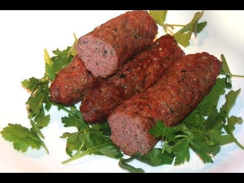 Lamb and Wild Mushroom Sausages Recipe / with or without a casing