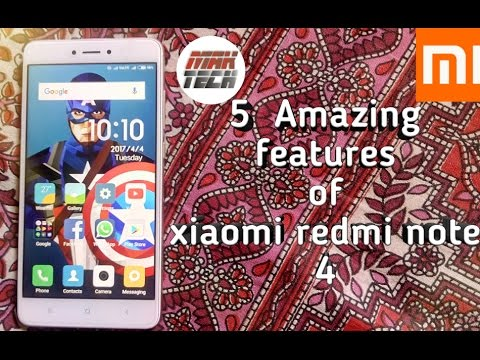 5 Amazing features of xiaomi redmi note 4 | Must watch | (in Hindi)