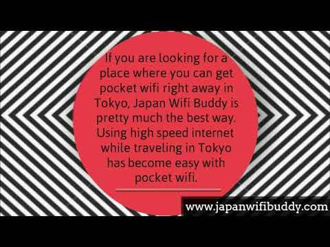 Pocket Wifi in Tokyo by Japan Wifi Buddy
