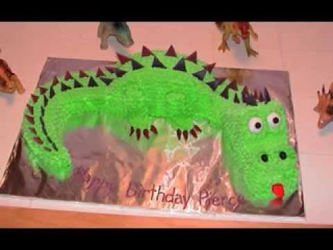 Creative Dinosaur cake ideas