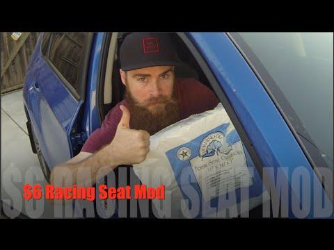 Subaru WRX/STI Seat Hack: $6 racing seats