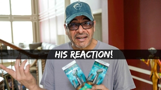 SURPRISING DAD WITH SUPER BOWL TICKETS!!! | VLOG 50