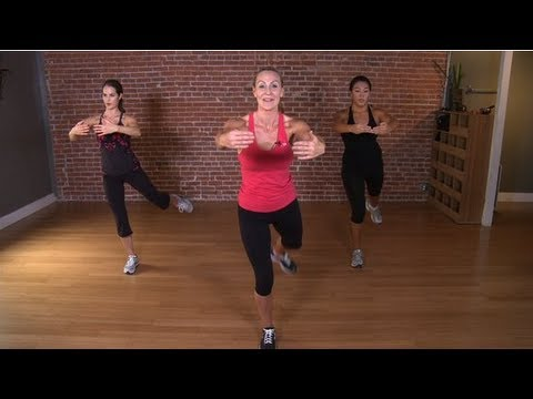 Victoria's Secret Model Workout: 10-Minute Fat-Blasting Circ