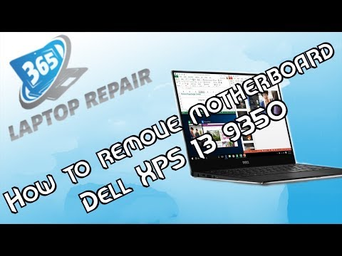 Dell XPS Motherboard Replacement for 9350 13