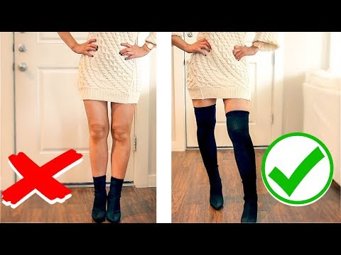 ❌  8 IMPORTANT WINTER CLOTHING HACKS THAT ARE ACTUALLY USEFUL ❌  FASHION STYLE HACKS