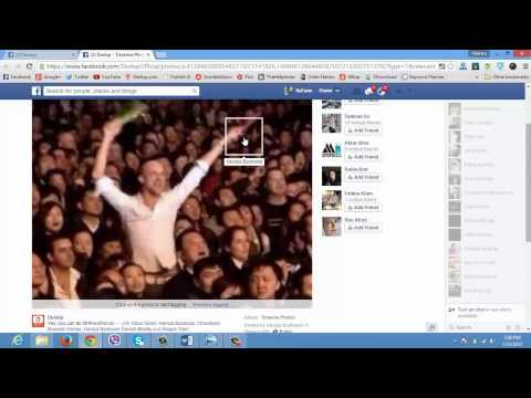 How to Tag Friends(People Profiles) in to Facebook Business Page or Fan Page - Sufyan Basharat