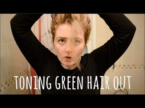 HOW TO FIX: Tone Out Green Hair