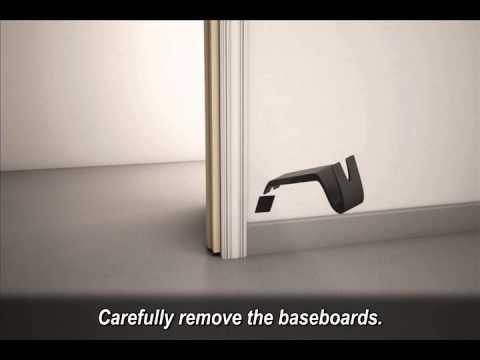 Fold Down LVT Installation Video