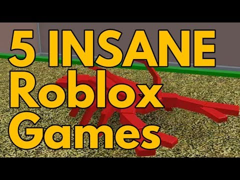 Top 5 INSANE Roblox Games That You Don't Want To Miss