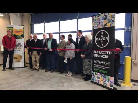 Marion Soybean Breeding and Trait Development Station Grand Opening