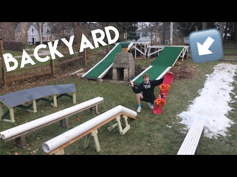How To Build Boxes and Rails (Snowboarding)