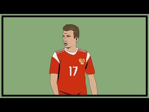 Russia's Aleksandr Golovin   Tactical Profile