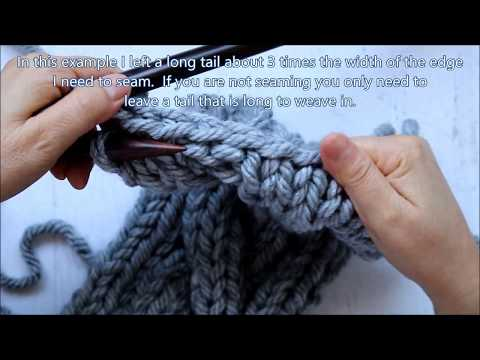 How to Bind Off in Knitting