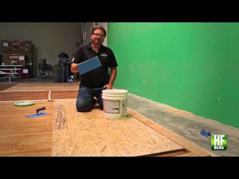 WFB Contractor Blog: Wayne Lee on How to Make Adhesive Less Messy