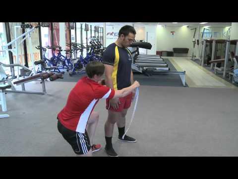 Fitness Test   Waist to Hip Ratio Measurement