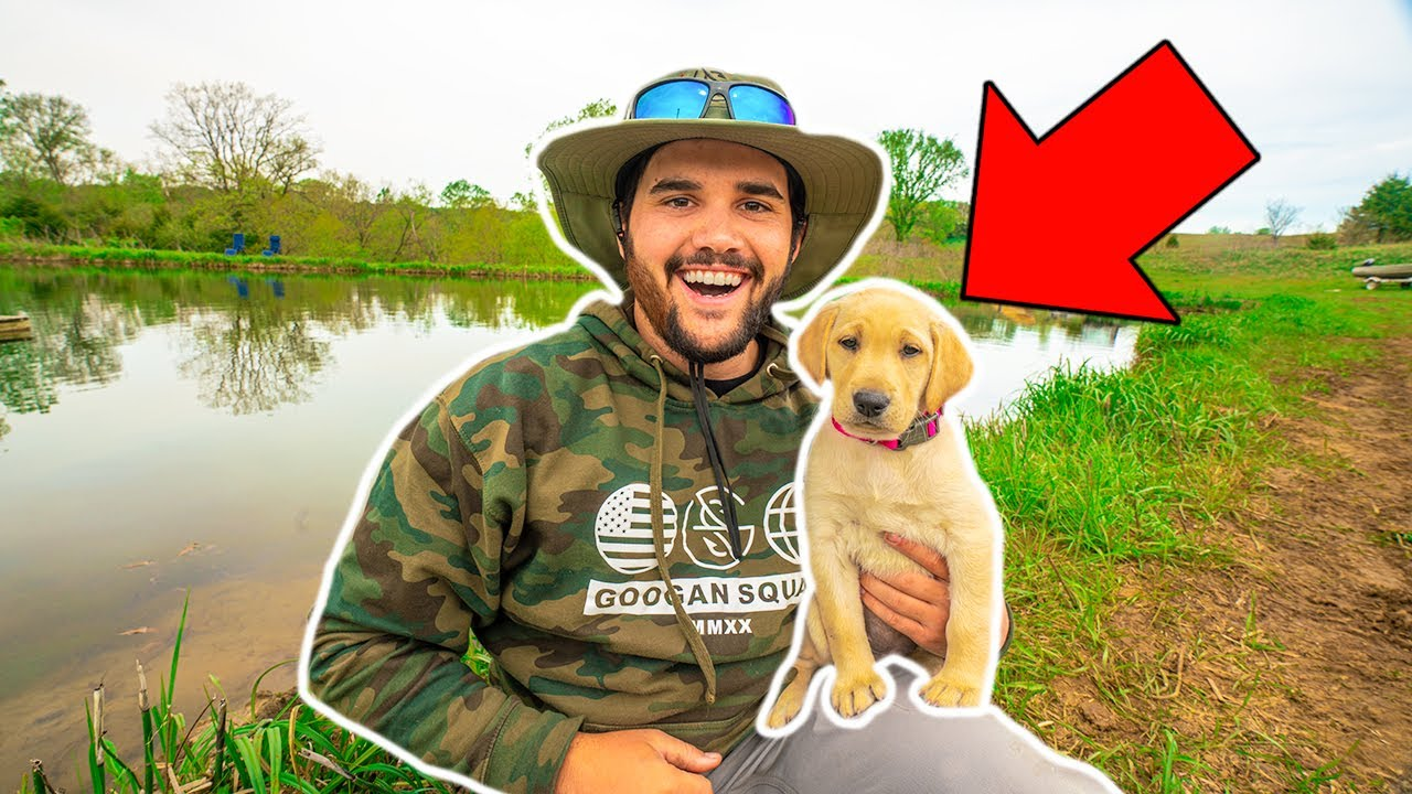 I Bought a NEW PUPPY for My BACKYARD FARM!!! (Help Me Name It)