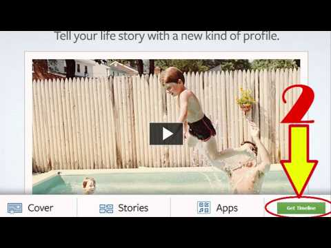How to get Facebook Timeline - The New Facebook Layout