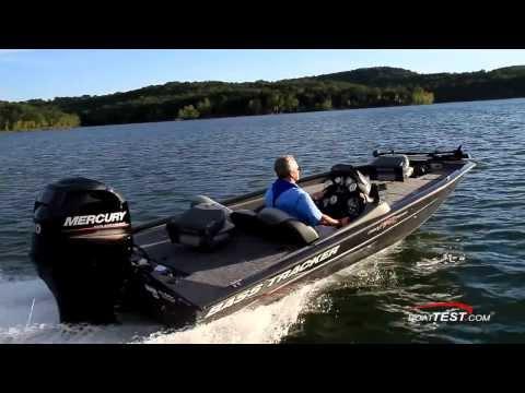 Tracker Pro Team 190 TX Test 2014- By BoatTest.com