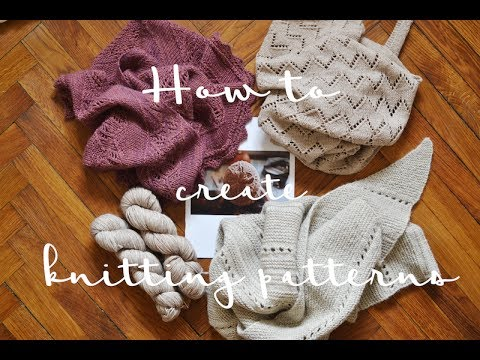 How to create a knitting pattern in 10 steps