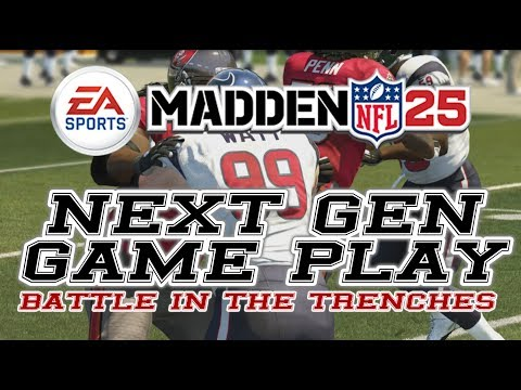 Madden NFL 25 || Next Gen || Trench Blocking || PS4