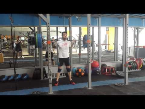 Pause squat 152.5 x2