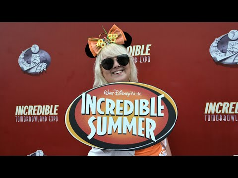 THE INCREDIBLE SUMMER EXPO AT MAGIC KINGDOM | First Day!!!!