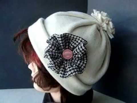 SEWING, Make a very easy FLEECE HAT. Sewing for beginners