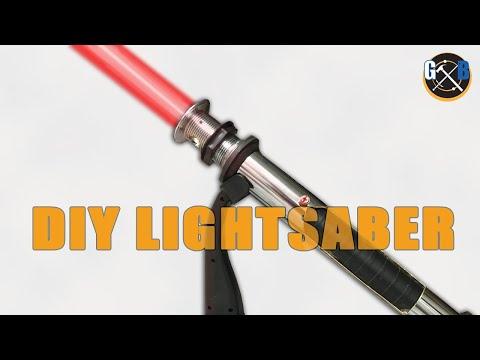 Star Wars DIY Custom Lightsaber Build and Epic Battle :: How To