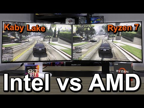 Intel vs AMD 2017 - Side-by-Side Comparison