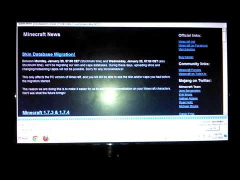 Minecraft pc 1.7.4 wont download PROBLEM