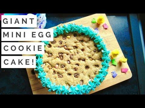 Giant Mini Egg Cookie Cake!