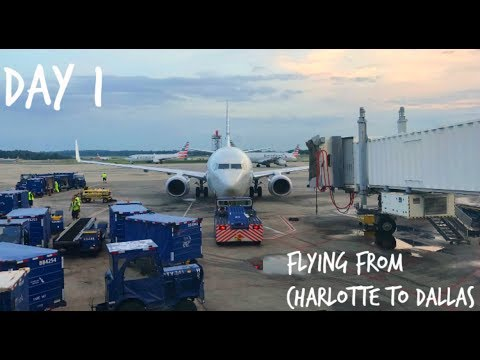 PERU VLOGS: TRAVELING FROM CHARLOTTE TO DALLAS
