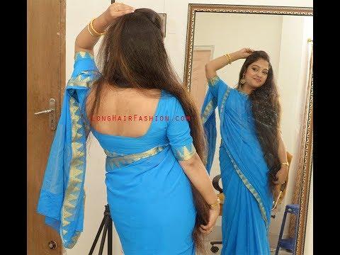 Indian Rapunzel, Very Beautiful Long Hair in Longhairfashion