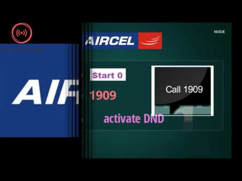 How to Activate DND in Aircel
